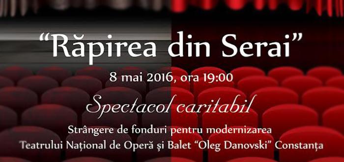 """Spectacol CARITABIL pentru teatrul """"Oleg Danovski"""""""