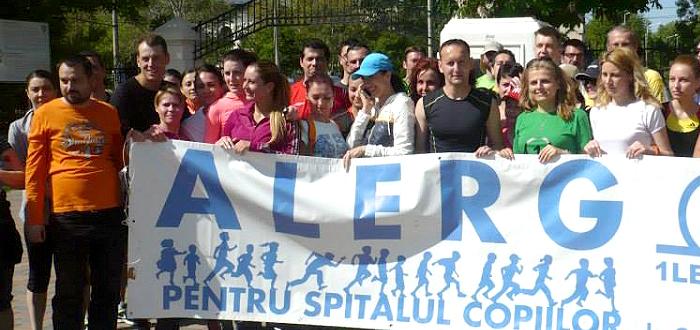 Alearga si DONEAZA 1 LEU pentru Spitalul Copiilor la Constanta