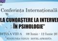 Conferinta Internationala. Unii dintre cei mai reputati psihologi din lume vin la Constanta