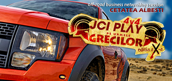 "Off-road, business si distractie! JCI PLAY 4×4, editia aniversara, ""Pe urmele grecilor"""
