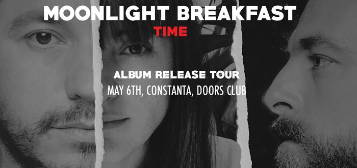 MOONLIGHT BREAKFAST. Concert si lansare de album la Club Doors!