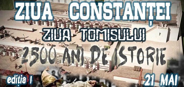 Ziua Constantei – Ziua Tomisului, un eveniment pentru celebrarea a 2500 de ani de istorie