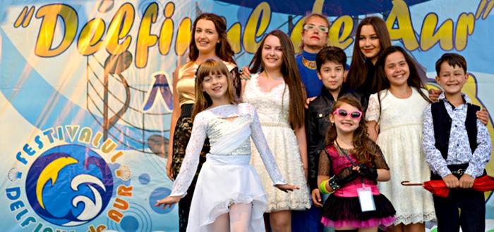 """Cei mai talentati copii vor canta la Festivalul """"Delfinul de Aur"""" Navodari"""