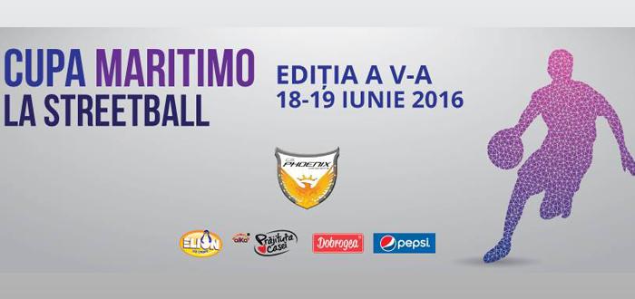 Editia a 5-a: Cupa Maritimo la Streetball! Inscrierile au inceput