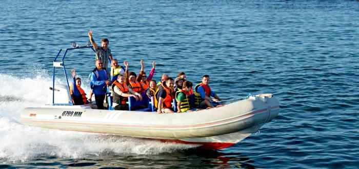 Plimbare cu SALUPA pe Marea Neagra! Cu Dream Explorer
