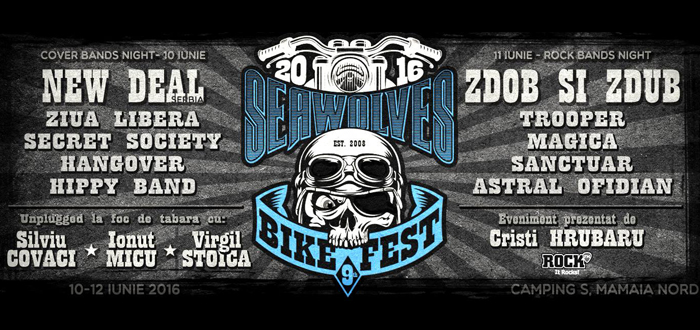 SEAWOLVES BIKE FEST 9! In acest weekend, in Mamaia Nord
