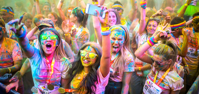 THE COLOR RUN revine la Mamaia cu Tropicolor World Tour 2016