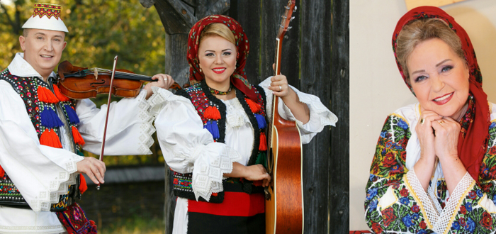 Cornelia și Lupu Rednic împreună cu Mioara Velicu, concert la Teatrul de Vară Jupiter