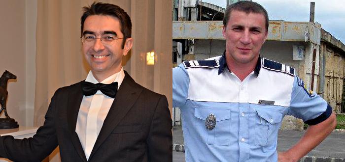 """Mihai GĂINUŞĂ, făcut praf de poliţistul GODINĂ! """"Văd că tu eşti cel cu gura mare. Pardon, cu ciocul mare"""""""