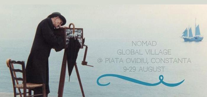 Festival de FILM ÎN AER LIBER la Constanţa. NOMAD GLOBAL VILLAGE