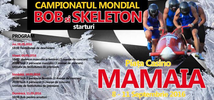 Campionatul MONDIAL de BOB şi SKELETON la Constanţa! PROGRAM COMPLET