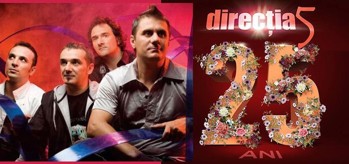 DIRECŢIA 5 la 25 de ani! Două zile de concerte la Club Phoenix