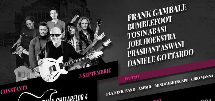 Şase dintre cei mai buni chitarişti ai lumii vin la Constanţa la ZIUA CHITARELOR!