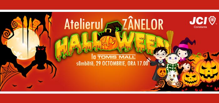 ATELIERUL ZÂNELOR, ediţie specială de Halloween! Eveniment caritabil