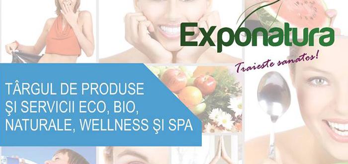 Târg de produse bio şi servicii eco! EXPONATURA, la Maritimo