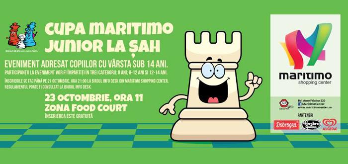Campionat de ŞAH pentru copii, la Maritimo!