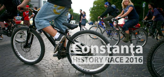 Vino să dai pedală la Constanţa HISTORY RACE 2016
