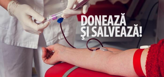 Este nevoie de sânge! Centrul de Transfuzii va fi deschis și sâmbătă