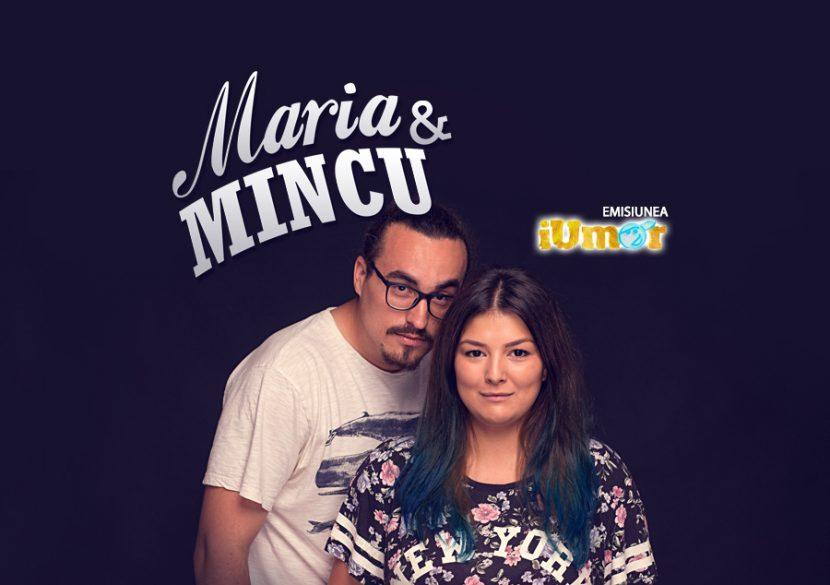 Stand-up cu MARIA şi MINCU, la Harlequin Mamaia