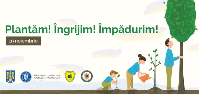 PLANTĂM FAPTE BUNE la Constanţa! Implică-te în acţiunea de împădurire a României