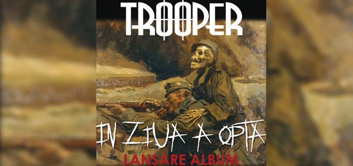 Concert şi lansare de album TROOPER, la Doors