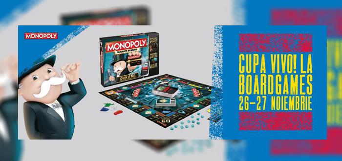 Cupa VIVO la boardgames! Cât de bun eşti la Monopoly?