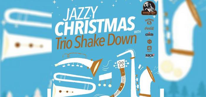 Jazzy Christmas cu Trio Shake Down, la Doors Club