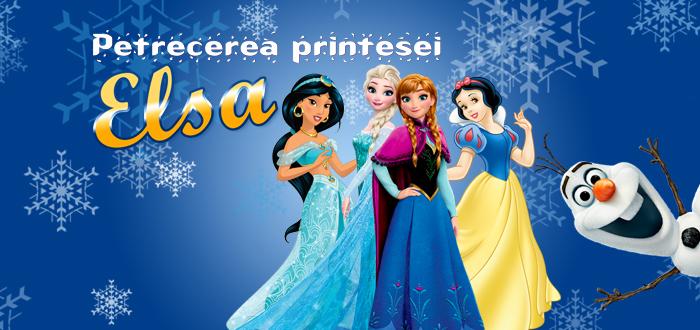 Petrecerea Prințesei ELSA! Eveniment pentru copii și părinți, cu Trupa Suflețel
