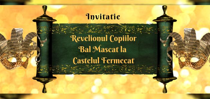 REVELIONUL COPIILOR! Bal Mascat în Tărâmul Magic de la Festivalul Iernii