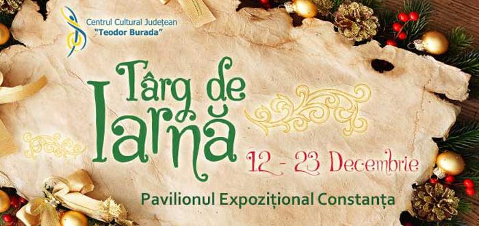 TÂRG DE IARNĂ, la Pavilionul Expozițional. Spectacole, concerte şi Moş Crăciun!