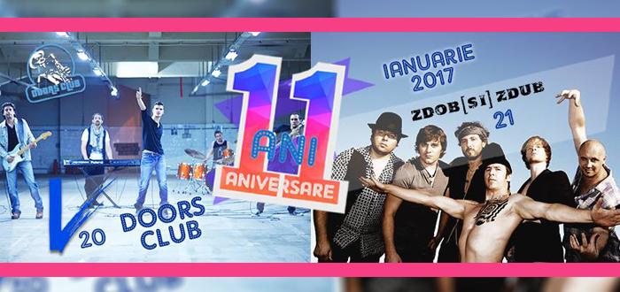 Concerte cu VAMA şi ZDOB ŞI ZDUB! 11 ani de Doors Club