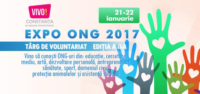 Vrei să faci VOLUNTARIAT? Vino la EXPO ONG, alege-ţi domeniul care ţi se potriveşte!