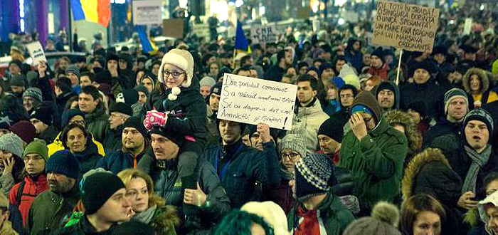 Proteste în această seară la Constanţa împotriva Guvernului Grindeanu