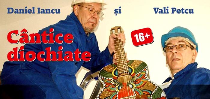 """Concert de """"Cântice diochiate"""", cu DANIEL IANCU şi VALI PETCU, la Phoenix"""