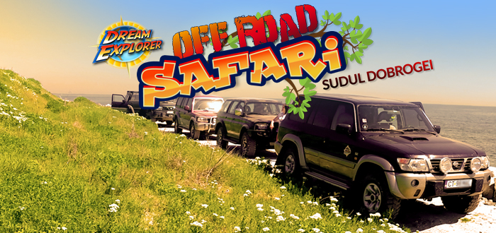 OFF-ROAD SAFARI în sudul Dobrogei, cu Dream Explorer