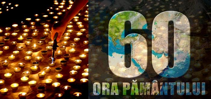 ORA PĂMÂNTULUI. Mii de lumânări vor fi aprinse în parcul Tăbăcărie!