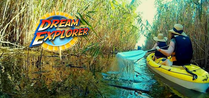 Descoperă DELTA DUNĂRII cu CAIACUL! Înscrie-te la o aventură cu Dream Explorer