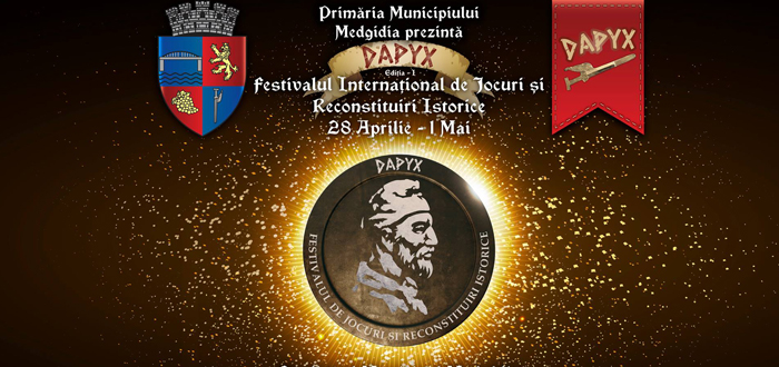 Festivalul DAPYX. GLADIATORI şi concerte cu SMILEY, CARGO, IRIS, PASĂREA ROCK, CARLA'S DREAMS, VOLTAJ!