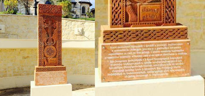 La Constanţa a fost inaugurat primul HACIKAR din judeţ! O cruce de piatră sculptată manual