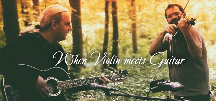 Horia & Flores – WHEN VIOLIN MEETS GUITAR! La Doors Club