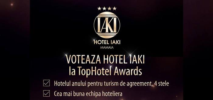 Hotelul IAKI, finalist în Gala Top Hotel Awards 2017