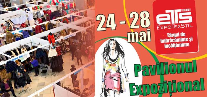 EXPOTEXTIL. Târg de îmbrăcăminte şi încălţăminte, la Pavilionul Expoziţional