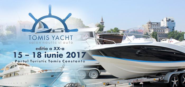 Salon Nautic şi Auto la Constanţa. TOMIS YACHT 2017, în Portul Tomis