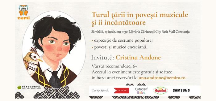 Eveniment pentru copii. Vino să-l cunoşti pe ENESCU, la Cărtureşti!