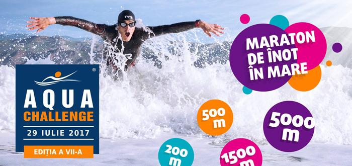AQUA CHALLENGE. Maraton de înot în Marea Neagră!