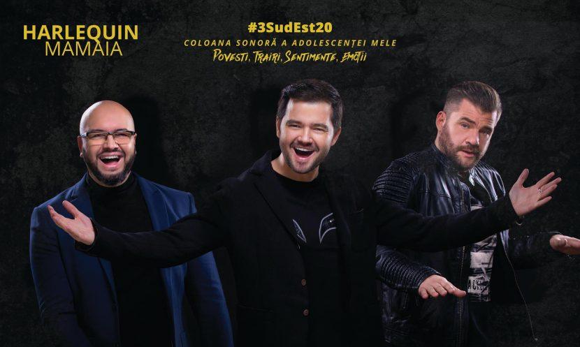 3 SUD EST & Live Band! Concert aniversar, la Harlequin Mamaia