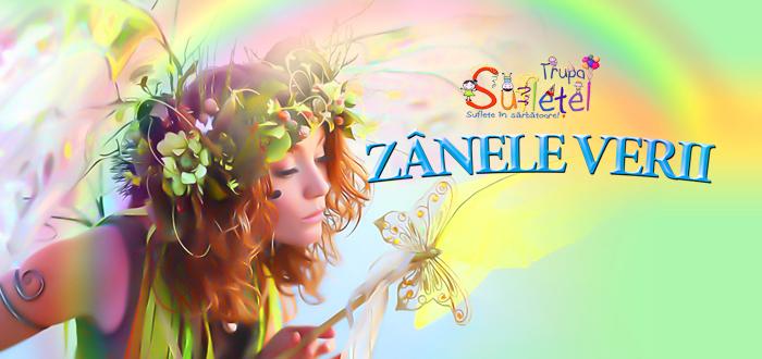 ZÂNELE VERII, spectacol interactiv pentru cei mici, cu Trupa Sufleţel