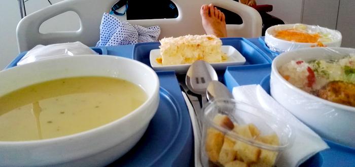 Mâncare EXPIRATĂ pentru pacienţii din TREI SPITALE ale Constanţei