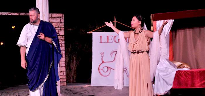Comedie despre viața poetului Ovidius, în Parcul Tăbăcărie