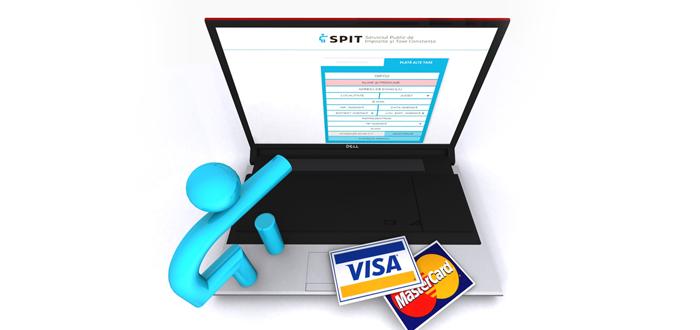 Taxele şi impozitele SPIT Constanţa, achitate electronic, prin direct debit sau cu telefonul mobil